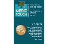 Medic Touch Massage Therapy Studio Now Open !!!
