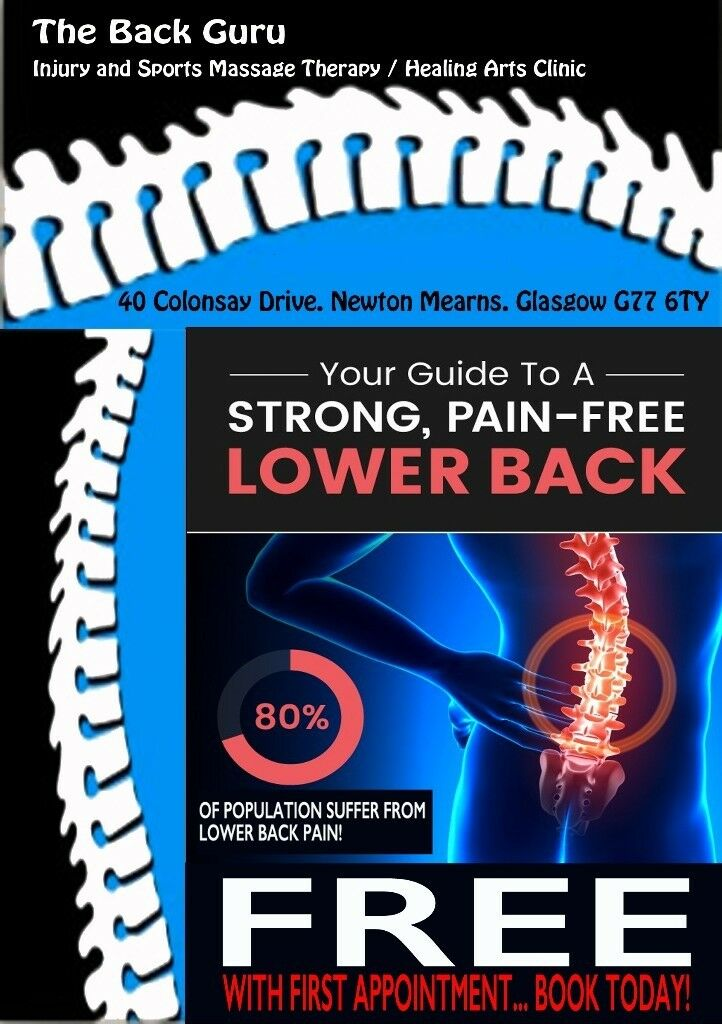 BACK PAIN RELIEF - FREE GUIDE