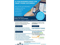 For Small businesses - Low cost ready to use Native mobile app & responsive website