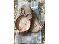 Ballet shoes size 9 £3 Ono, party shoes size 10 £5, £4 & £3 ono