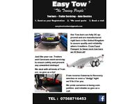 Easytow Tow-bar services. Tow-bar fitting, trailer/caravan servicing and auto electrics.