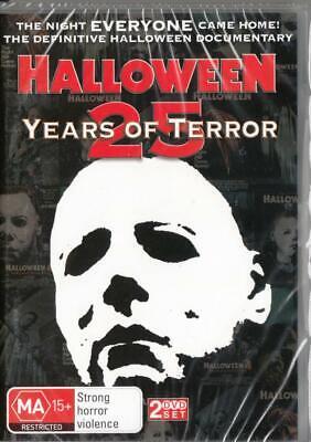 25 Years Of Halloween (HALLOWEEN 25 YEARS OF TERROR  -  NE &SEALED R4 DVD FREE LOCAL)