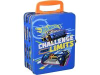 Theo Klein 2883 Hot Wheels Storage Case Compartments High Quality Metal (NEW & Sealed)