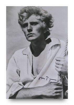Terence Stamp Signed 12x8 Photo Billy Budd Autograph Memorabilia + COA