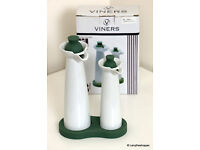 VINERS 'Torino' Oil & Vinegar Set - New In Box