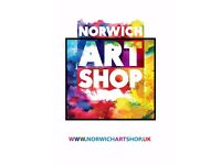 Volunteers required for Art Shop Project in City Centre