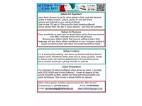 Italian Language Tuition and Classes
