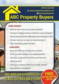 Need to sell house FAST/Are you in Negative Equity/ Tried of Tenants
