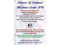 Flowers Of Scotland Garden Centre Christmas Shopping Evening - Rosebank, clydevalley