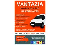 VANTAZIA MOVING TO & FRO - REMOVALS, FURNITURE DELIVERY, SINGLE ITEMS