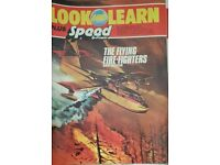 Vintage 1970's 'Look and Learn' magazine edition number 757.