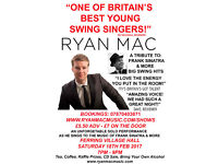 Ryan Mac Live A Tribute To Frank Sinatra & More Big Swing Hits