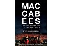 4 x The Maccabees standing tickets, O2 Manchester Apollo, Tuesday 27th June 2017 - Face Value
