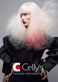 Looking for hair stylists / hairdressers (NVQ 1, 2 and 3 accepted) at Celly's Hemel Hempstead branch