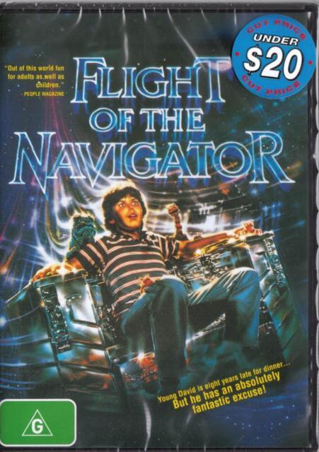 FLIGHT OF THE NAVIGATOR  - CLASSIC FILM!- NEW DVD  - FREE LOCAL POST
