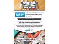 Ely Handyman- flat pack furniture, blinds, shelves, DIY help, decorating, flooring, gardens