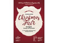Christmas Fair 12-3pm Sunday 26 November - fundraising for the Scouts. Buy gifts, meet Santa