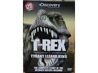 Discovery Channel / T-REX: TYRANT LIZARD KING - DVD - 3 DISC BOX SET