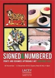 SIGNED & NUMBERED