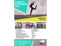 School Of Performing Arts offering a variety of classes for boys & girls from 18 months to 18 years.