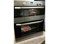 BRAND NEW,UNUSED.STAINLESS STEEL,BUILT UNDER DOUBLE OVEN UNIT. BARGAIN OF THE MONTH,SAVE ££££s