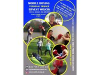 MOBILE BOXING PERSONAL TRAINER - GET FIT & LEARN BOXING AT YOUR CHOSEN PLACE