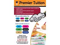 PREMIER TUITION-TUITION PROVIDER IN ILFORD FOR ENGLISH, MATHS, SCIENCE UP-TO GCSE & A-LEVEL