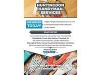 Huntingdon Handyman Services DIY, fencing, flatpack assembly, shelving, blinds, property maintenance