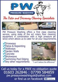 Driveway & Patio Cleaning - Pressure Washing