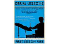 Drum Lessons with Siggy Watt BMus