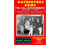 FRIDAY 24th NOVEMBER - 60s 70s SOUL / REGGAE / MOTOWN with DOUBLE BARREL – FILTON