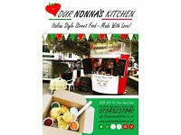 Italian Street Food Vendor - for Event hire from Weddings to Children's Parties