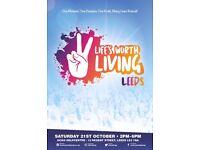 """Life's Worth Living"" Leeds March | Sat 21st October, 2pm | UCKG HelpCentre 12 Regent Street LS2 7QA"