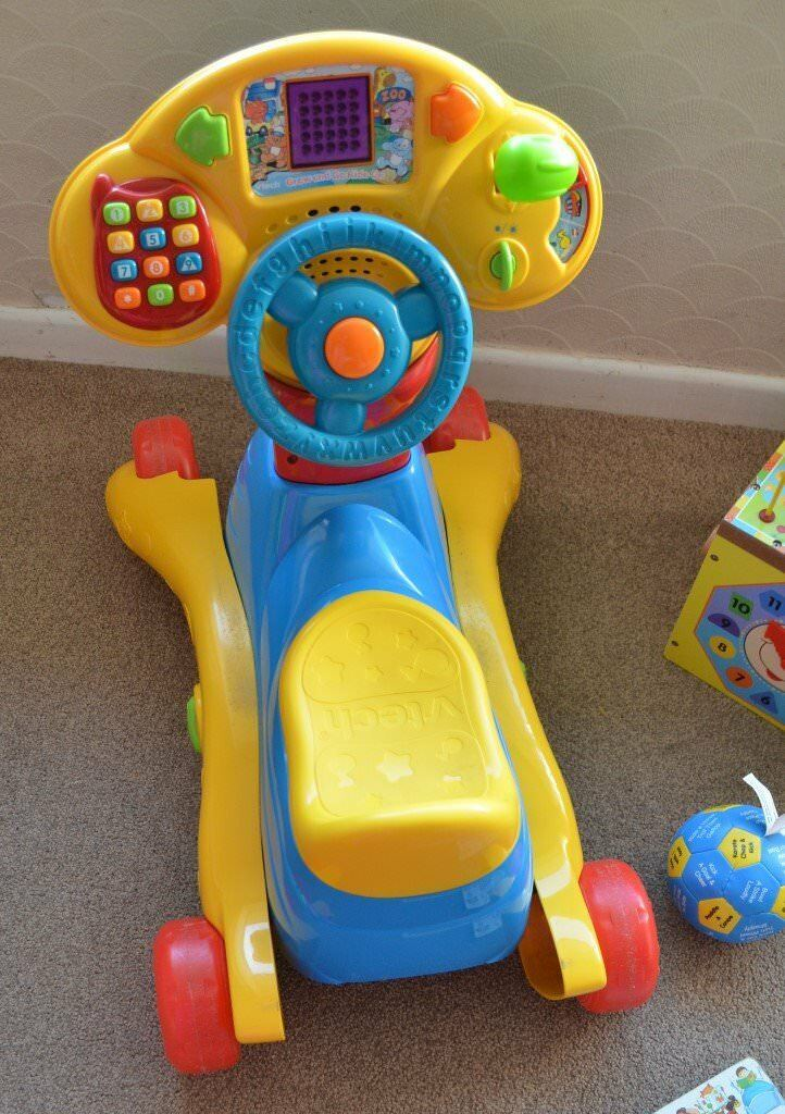 Vtech Grow And Go Ride On Car Rocking Horse In Poole