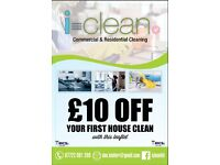 Trusted Commercial & residential professional cleaning specialists