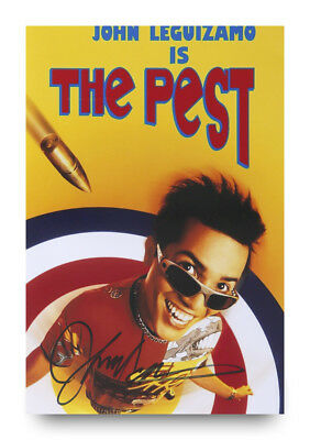 John Leguizamo Signed 12x8 Photo The Pest Autograph Memorabilia + COA