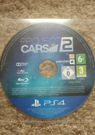 Project Cars 2 PS4 (disc only)