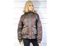 Alpha Industries women jacket brown