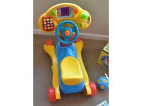 VTech Grow and Go Ride-on car rocking horse