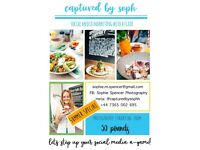 £50 FOOD, CAFE AND BAR PHOTOGRAPHY DEAL