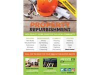 Property Refurbishments, Painting and Decorating, Builders, Highly Experienced