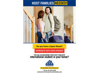 We are looking Host Families for International students!