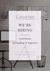Leeds: Warehouse Operative: Packing & Logistics