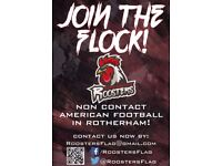New non contact American Football team in Rotherham! The Roosters!