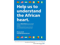 People of WEST AFRICAN descent needed for 3D heart scan