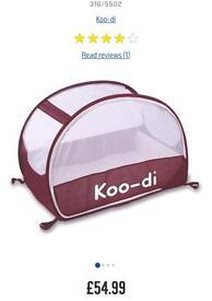 Travel cot tent