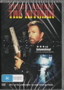 THE HITMAN - CHUCK NORRIS - NEW & SEALED DVD - FREE LOCAL POST