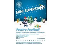 QPR Mini Superstars Festive Football (10.00am - 11.30am) £5 per day