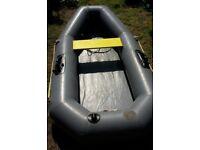 Avon 8ft inflatable dinghy/tender + bag + pump + oars