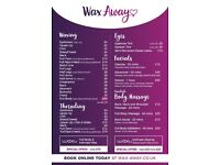 **LADIES ONLY** Wax Away beauty/waxing/facial/hollywood -Home Based Salon-Yardley Birmingham B25 8QD